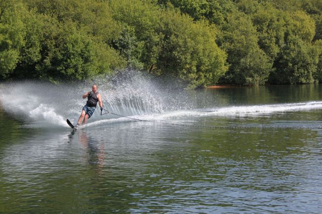 Waterski on the lake