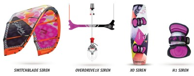 Equipment from the Siren Collection
